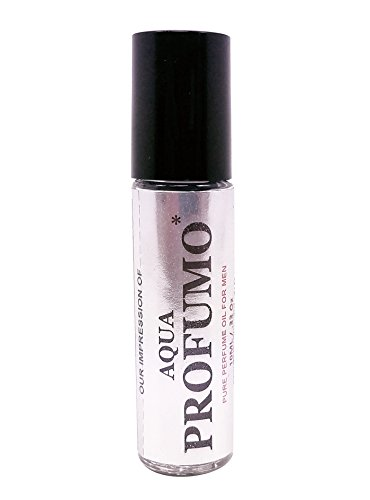 Price comparison product image Profumo IMPRESSION Perfume Oil. Superior Quality Pure Perfume Oil with SIMILAR Accords to AquaDeGio Profumo* Long Lasting, No Alcohol Oil. VERSION/TYPE; Not Original Brand (10ML GLASS ROLLER BOTTLE)