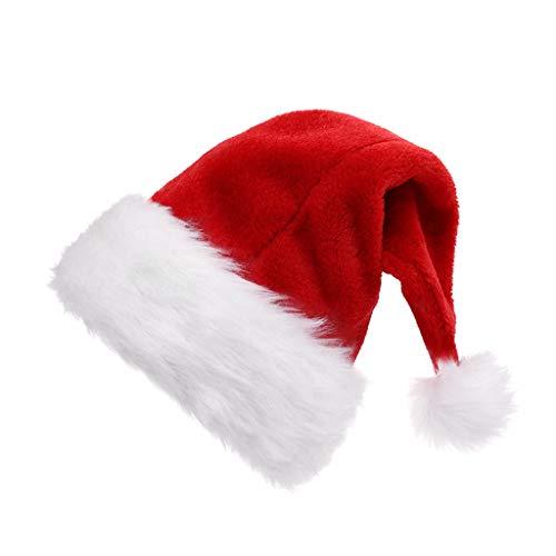 TAOHONG Baby Girls Santa Claus Dress Christmas Suit Kids Xmas Costume Cosplay Outfit Set
