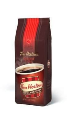 Tim Hortons Ground Coffee 1 Lb Bag (454 G)