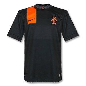 2012-13 Holland Away Euro 2012 Football Shirt