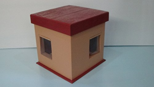 Cozy Kitty Cottage by STABOB'S HANDCRAFTED PET HOUSES