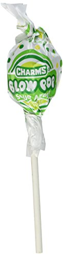 Blow Pops Sour Apple (Pack of 48) ()
