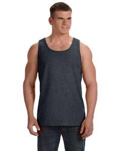 Fruit Of The Loom Athletic Jersey (Bodek And Rhodes 41150167 39TK Fruit of the Loom Adult Heavy Cotton HD Tank Top Black Heather - 2XL)