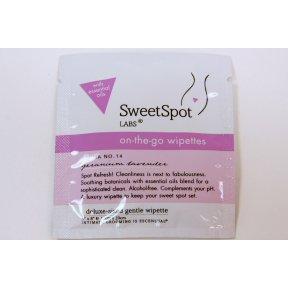 Sweetspot Labs Wipettes, Geranium Lavender, 7 Count