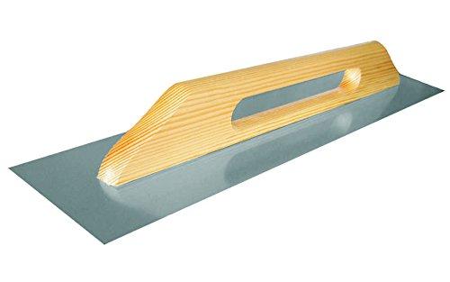 Llana para acabados COMENSAL acero inoxidable con mango de madera tamañ o grande 314