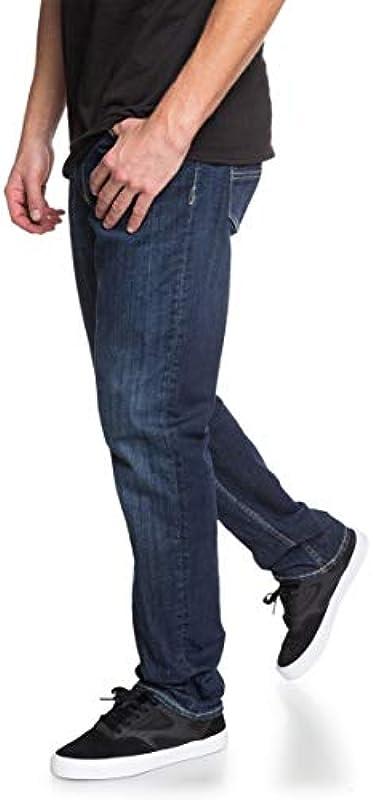 DC Shoes Worker Medium Stone - Jeans mit Straight Fit für Männer EDYDP03407: DC Shoes: Odzież