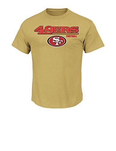 NFL San Francisco 49Ers Men's QB Spy Program Short Sleeve Basic Tee, Medium, Harvest - Tampa Shop Spy
