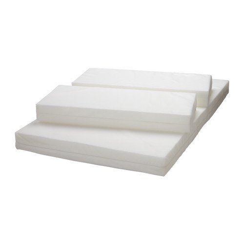 Ikea Vyssa Slappna Mattress For Extendable Bed White