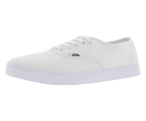 Vans Unisex VANS AUTHENTIC LO PRO SKATE SHOES 4 Men US / 5.5 Women US ( TRUE WHITE/TRUE WHITE ) (The Best Way To Clean White Vans)