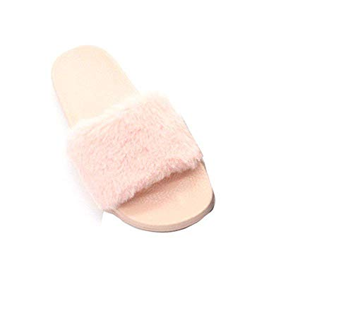 Fabric Donna Da Deed Indoor 's Antiscivolo Peluche Scarpe Eu Slippers 38 5qwgEXg