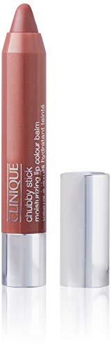 Clinique Chubby Stick Moisturizing Lip Color Balm, No. 02 Whole Lotta Honey, 0.1 Ounce