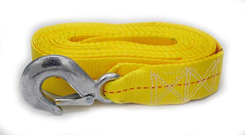 Yellow Trailer Winch Replacement Strap 2