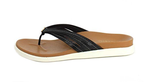 Vionic Women's with Orthaheel Catalina Sandal Black qq8BP6w
