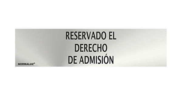 Normaluz RD707067 - Señal Adhesiva Rectangular Reservado El ...