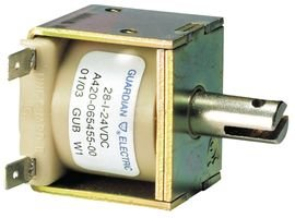 Linear Solenoid, 120 VAC, 19.7 ohm, 49 VA, 68.113 N, Pull, Continuous - Kickdown Automatic Transmission