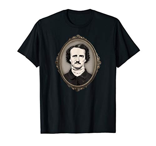 Edgar Allan Poe Gifts Victorian Gothic Frame Edgar Allan Poe T-Shirt (Did Edgar Allan Poe Have Any Children)