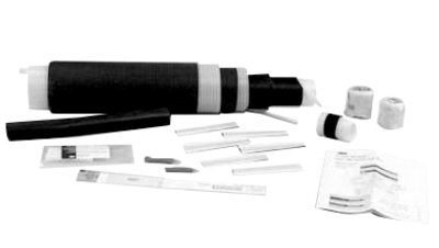 - 3M Cold Shrink QS-III Splice Kit 5535A-250-CU, Tape Shielded, Wire Shielded, Longitudinally Corrugated, 35 kV