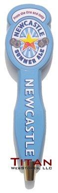 newcastle beer tap handle - 8