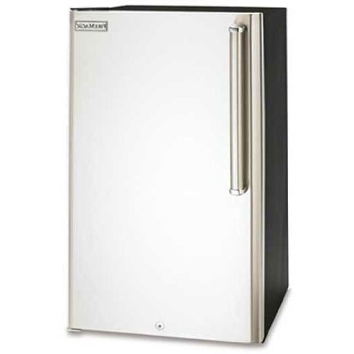 Fire Refrigerator Magic Stainless Steel - Fire Magic 3590-DL Stainless Steel Refrigerator with Echelon Style Handle