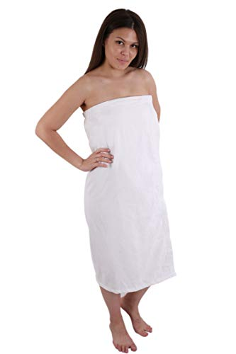 (Long Size Velour (Extra Soft) Women`s Body Wrap, Shower & Bath, Terry Spa Towel, Made in Turkey)