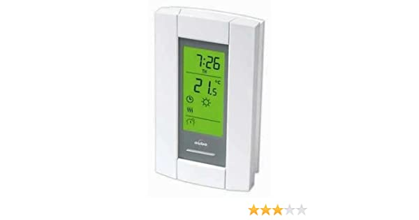 Honeywell/Aube TH115-A-240S Programmable Thermostat for Baseboards, convectors and fan-forced heaters. Backlit Display - Programmable Household Thermostats ...