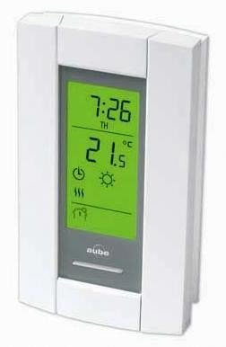 Honeywell/Aube TH115-A-240S Programmable Thermostat for Baseboards, convectors and fan