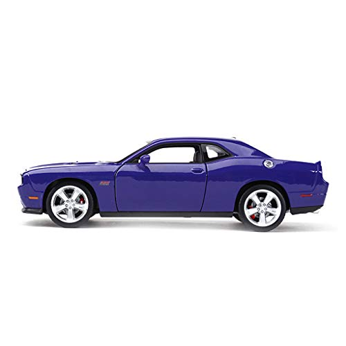JIANPING Car Model Car 1:24 Dodge 2012 Challenger Simulation Alloy Die-Casting Toy Ornaments Sports Car Collection Jewelry 19x8.4x5.5CM Model car