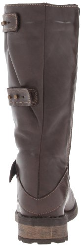 Eric Michael Womens Carlotta Motorcycle Boot Brown Z2EpWEP