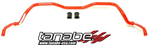 Tanabe TSB036F Sustec 25.4mm Diameter Front Sway Bar for 2000-2005 Toyota Celica ()
