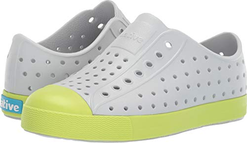 8e5b9e9f6f7c5 Native Kids Shoes Unisex Jefferson (Little Kid Big Kid) Mist Grey Sunny