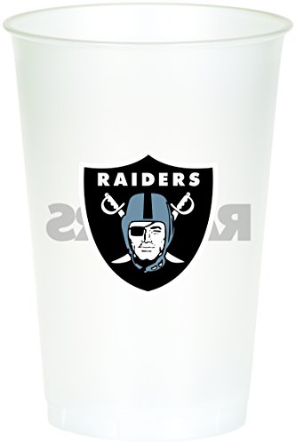 Creative Converting 8 Count Oakland Raiders Printed Plastic Cups