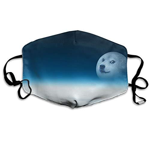 SyjTZmopre Doge Mouth Mask Unisex Printed Fashion Face Anti-dust Masks]()