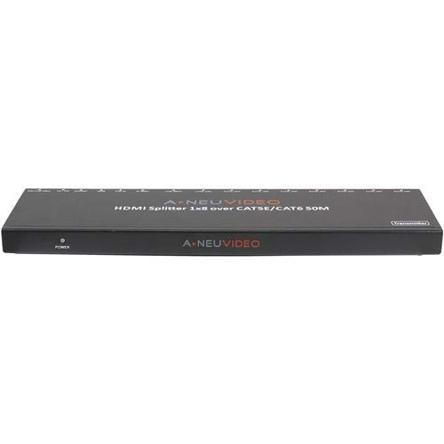 A-Neuvideo ANI-0108POE 1x8 POE HDMI Splitter Extender with 3-Year Warranty