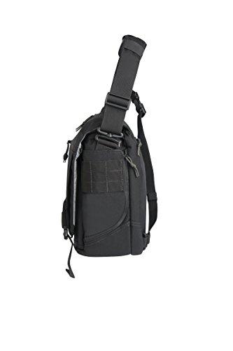 Negro First escolar Tactical Bolsa Hombre 6nxxqw7YT8