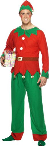 Smiffys Elf Costume X Large ()