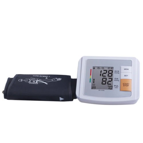 Alicenter(TM) Automatic Tonometer Meter Digital LCD Screen Arm Blood Pressure Monitor