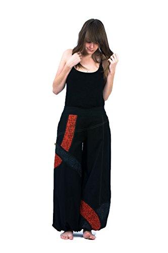 Style Pantalon Sarouel Noir Fantazia Happy dqtOwBX