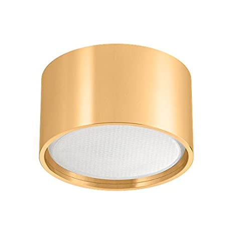 Foco LED (GX53 – oro – tauschbares 5,5 W Marca Bombilla de ledando