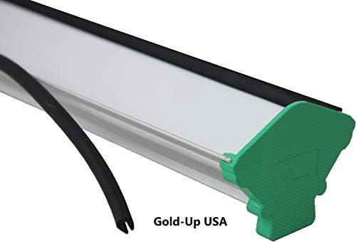 Dual Edge Aluminum Emulsion Scoop Coater for Silk Screen Printing Coating Tool 6 Inch