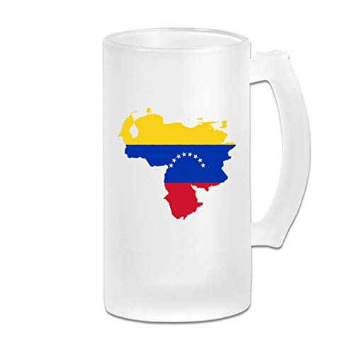 Frosted Beer Mug, Made in Venezuela Stamp Map and Flag Download Royalty Free Vector File Personalized Stein