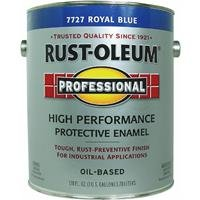RUST-OLEUM 215964 Professional Gallon Royal Blue Enamel Paint - Rust Oleum Industrial Enamel
