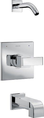 Delta Delta T14467-LHD Ara 14 Series Tub/Shower Trim - Less Showerhead, Chrome by DELTA FAUCET