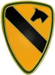 1st Cavalry Division Lapel Pin or Hat Pin Cavalry Hat Pins
