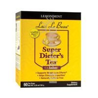Laci Le Beau Super Dieter\'s Tea Lemon Mint - 60 Tea Bags