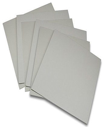 Battleship Gray traditional Carving Printing Studio 6 Pack of Firm Sheets Unmounted Artist Printmaking art set (4