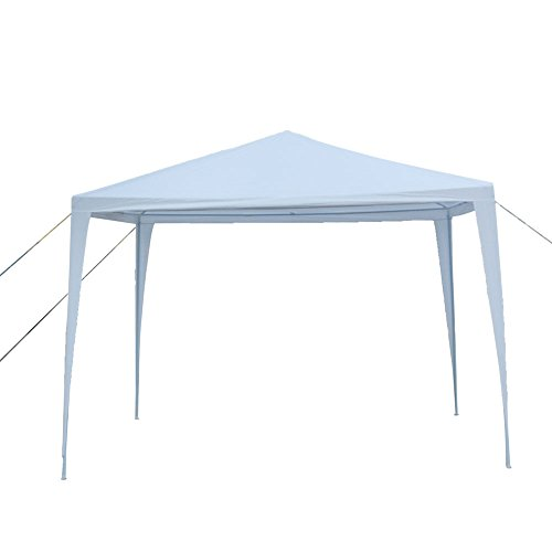 Senrob Canopy Tent Outdoor Beach Wedding Party Car Activity Event White Removable (10' x 10'(14.3 lbs)) by Senrob