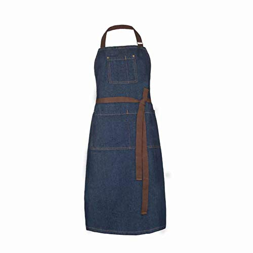 - SPRING SEAON Bib Apron for Women and Men,Kitchen Chef Apron - 3 Pocket Adjustable Neck Strap and 44