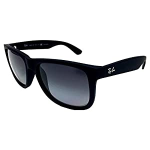 Ray Ban RB4165 622/T3 Black/ Grey Gradient 55mm Polarized Sunglasses
