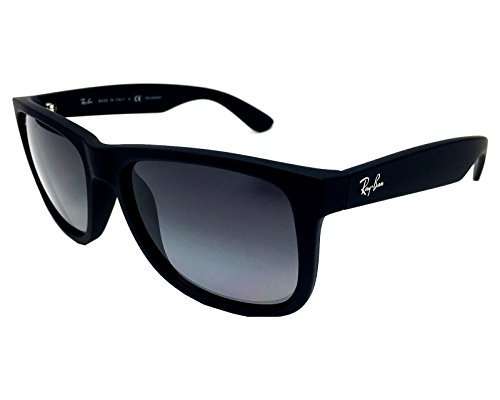 Ray Ban RB4165 622/T3 Black/ Grey Gradient 55mm Polarized - Grey Ray Wayfarer Gradient Ban