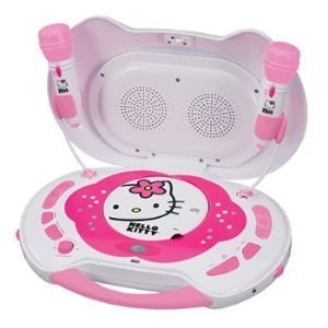 Hello Kity KT2003A Hello Kitty CD Karaoke System/CD Player